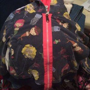 Harajuku mini mermaid hoodie